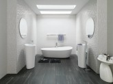 PORCELANOSA WHITE AND TEXTURES