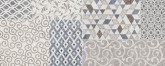 Marazzi Stream Decoro Match White 20x50 cm