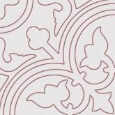 Keros Belle Epoque Alhambra Rojo 25x25 cm