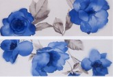 MARAZZI Colourline Decor Camelia Blue 22x66,2 cm