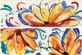 Imola Shades Flowers Sun Mix 20x60 cm