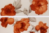 MARAZZI Colourline Decor Camelia Orange (2) 22x66,2 cm