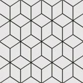 Keros Belle Epoque Alhambra Negro 25x25 cm