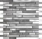 Keraben Future Malla Acero Plata 30,5x32,5 cm