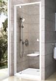 Ravak Pivot PDOP1 90 cm-es Fehér+ Króm/ Fehér -egyrészes,kifelé nyíló zuhanyajtóajtó