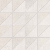 Supergres All White Mosaico nat/lux RT 30x30 cm