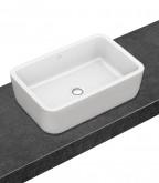 Villeroy and Boch Architectura ráültethető szögletes mosdó CeramicPlus