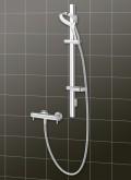 Methven Aurajet termosztátos zuhany-rendszer fehér/króm