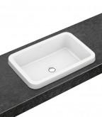 Villeroy and Boch Architectura beépíthető szögletes mosdó CeramicPlus
