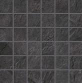 Supergres Stonework Ardesia Nera Mosaico 30x30 cm RT