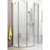 Ravak Chrome CSKK4 80 cm zuhanykabin