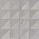 Supergres All Grey Mosaico nat/lux RT 30x30 cm