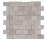 Supergres Story Grey Mosaico Burattato 30x30 cm