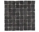 Supergres Stonework Ardesia Nera Mosaico Burattato 30x30 cm RT