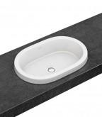 Villeroy and Boch Architectura beépíthető ovális mosdó CeramicPlus