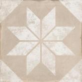 Keros Belle Epoque Triana Star Beige 25x25 cm