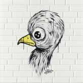 Imola Mash-Up Chick Yellow 2 30x60 cm