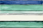 Imola Shades Stripes Sea Mix 20x60 cm