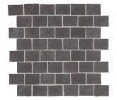 Supergres Story Dark Mosaico Burattato 30x30 cm