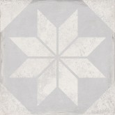 Keros Belle Epoque Triana Star Gris 25x25 cm