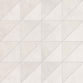 Supergres All White Mosaico nat/lux RT 30x30 cm