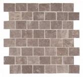 Supergres Story Bronze Mosaico Burattato 30x30 cm