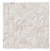 Supergres Stonework Quarzite Bianca Mosaico Burattato 30x30 cm RT