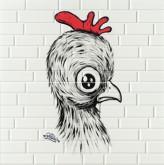 Imola Mash-Up Chick Red 2 30x60 cm